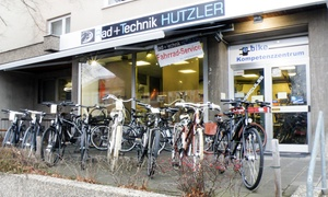 Rad + Technik HUTZLER: Fahrradinspektion für 1 Fahrrad von Rad + Technik Hutzler (40% sparen*)