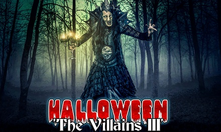"Tickets voor Halloweenevent ""The Villains III"" @Mondo Verde Landgraaf"