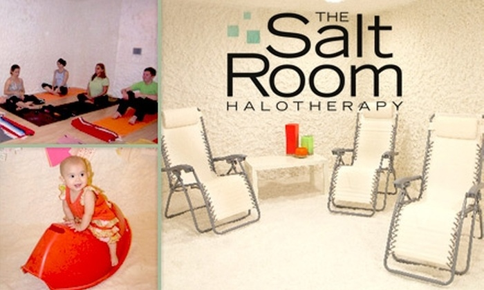 The Salt Room - Rowena Gardens: $20 for a Halotherapy Session at The Salt Room ($45 Value)