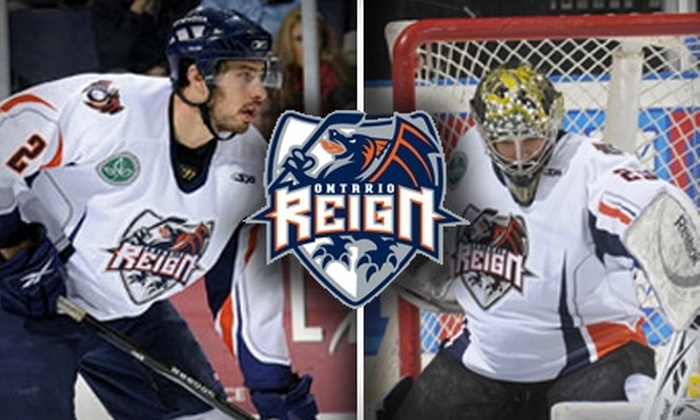 Ontario Reign - Ontario: $24 for Two Tickets and Parking to the Ontario Reign vs. Alaska Aces Game ($53 Value). Buy Here for January 29, 2010, at 7:30 p.m. See Below for Additional Ontario Reign Games.