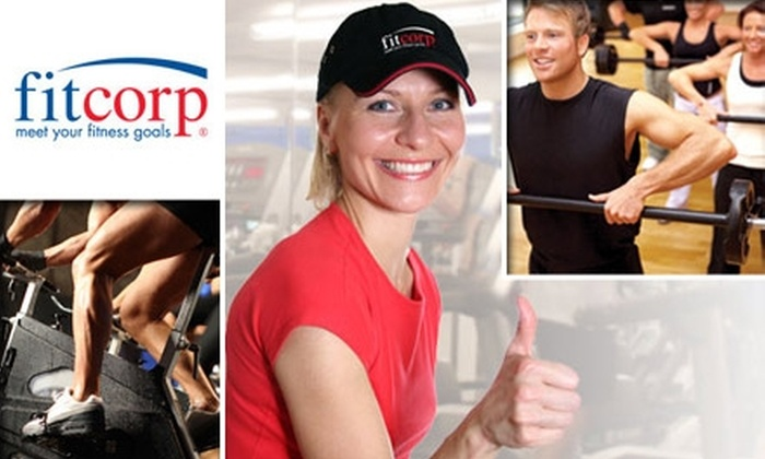Fitcorp - Boston: $20 for One-Month Membership and Two Personal Training Sessions at Fitcorp ($189 Value)