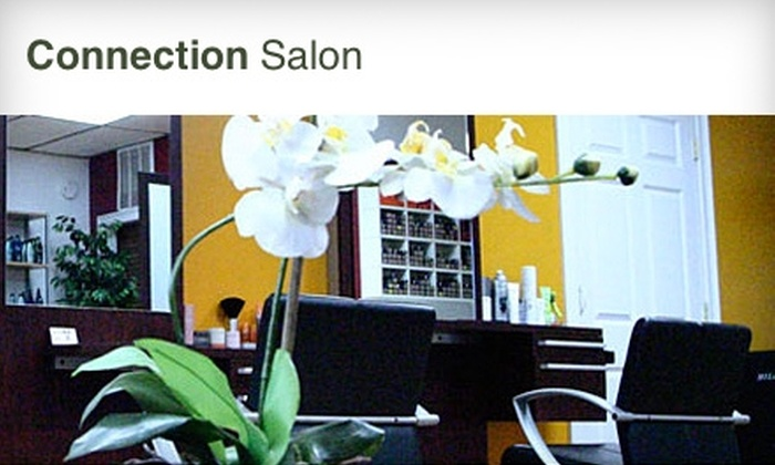 Connection Salon - West Town: $25 for a Haircut at Connection Salon