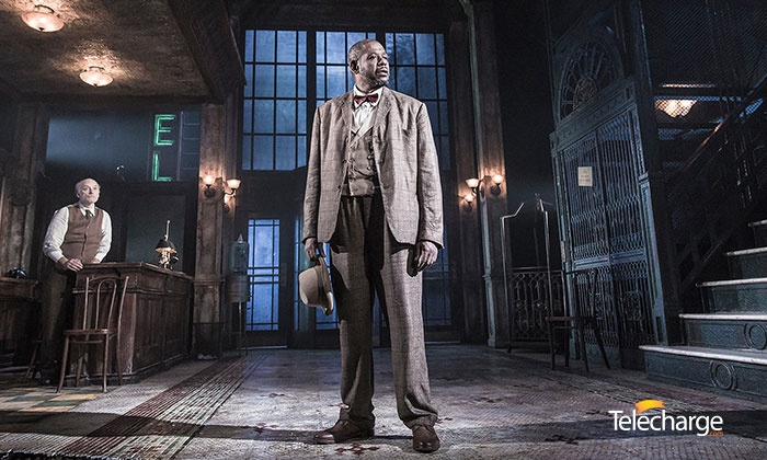 """Hughie"" on Broadway starring Forest Whitaker - Booth Theatre: ""Hughie"" on Broadway starring Forest Whitaker (March 11–27)"