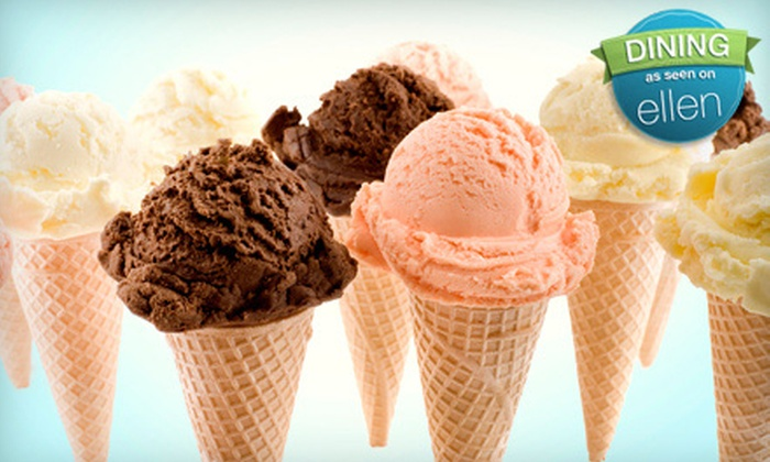 Serendipity Ice Cream - McMinnville: $8 for Five Ice-Cream Cones at Serendipity Ice Cream in McMinnville ($16.25 Value)