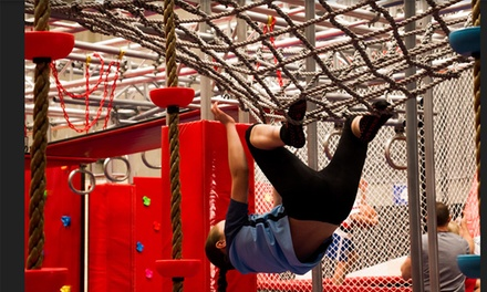 OneHour Obstacle Course Entry for One $11, Two $22, Three $33 or Four People $44 at Ninja 101 Up to $94 Value
