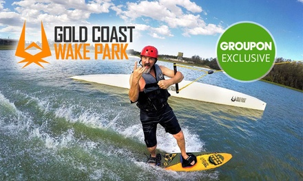 Wakeboarding or Kneeboarding: 1 $26, 2 $31 or 4 Hours $41, or Full Day $57 at GC Wake Park Up to $84.95 Value