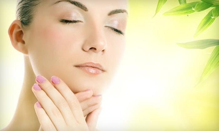 Chrysanthy's Salon and Spa - Southwest Side: Mani-Pedi, Facial, or Mani-Pedi with Facial at Chrysanthy's Salon and Spa in Hillside (Up to 54% Off)