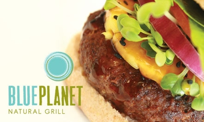 Blue Planet Natural Grill - South Central Omaha: $10 for $20 Worth of Healthy Fare at Blue Planet Natural Grill