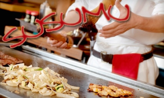 Susumu Japanese Steakhouse - Lead Hill: $15 for $30 Worth of Hibachi-Style Japanese Fare, Creative Sushi, and Drinks at Susumu Japanese Steakhouse in Roseville