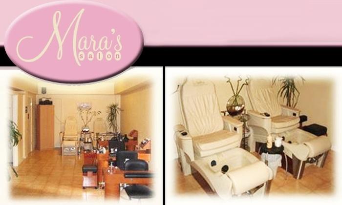 Mara's Salon - Hayes Valley: $20 Mani-Pedi at Mara's Salon ($35 value)