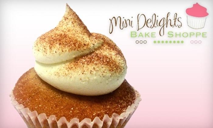 Mini Delights Bake Shoppe - Elkhart: $5 for $11 Worth of Mini Cupcakes at Mini Delights Bake Shoppe