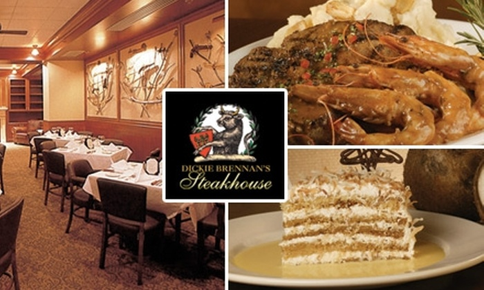 Dickie Brennan's Steakhouse - Central Business District: $15 for $30 Worth of Friday Lunch Fare from Dickie Brennan's Steakhouse