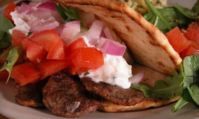 Greek on Wheels - Orleans Village - Chateauneuf: $12 for $25 Worth of Greek Fare from Greek on Wheels