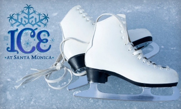 Ice - Downtown Santa Monica: $10 for Two Ice-Skating Sessions with Rentals at Ice ($20 Value)