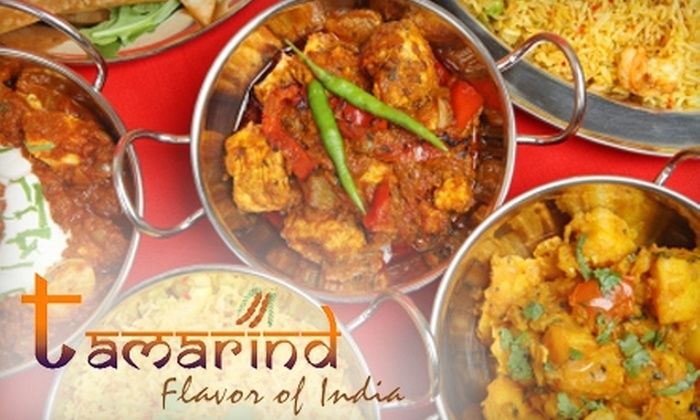 Flavor of India by Tamarind - Multiple Locations: $12 for Up to $30 Worth of Indian Cuisine at Flavor of India by Tamarind. Choose Between Two Options.