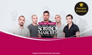 Up Eventos: Show de Sorriso Maroto - Salão Social do Clube Atlético Aramaçan: 1 ou 2 ingressos para dia 02/06