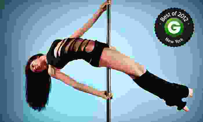 Foxy Fitness and Pole - Chelsea: 2, 5, or 10 Pole-Dancing or Pole-Flex Fitness Classes (Up to 51% Off)