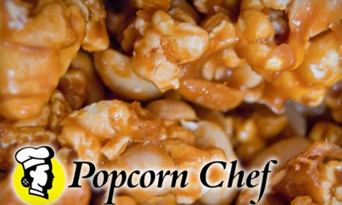 Popcorn Chef: $28 for a Two-Gallon, Four-Way Tin of Popcorn from Popcorn Chef ($58 Value)