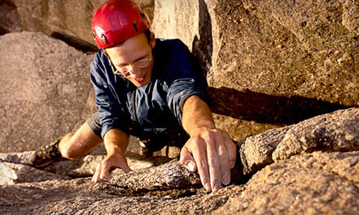 Stone Age Rock Gym - Waddell: $135 for a Four-Hour Guided Outdoor Rock-Climbing Trip for Two from Stone Age Rock Gym ($270 Value)