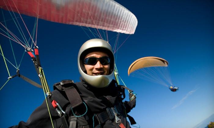 Rapture Air Paragliding School - Mesa Del Sol Innovation Park: $89 for Tandem Flight from Rapture Air Paragliding School ($180 Value)
