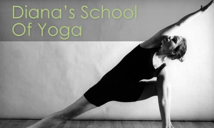 Diana's School of Yoga - Fort Worth: $39 for Eight Yoga Classes at Diana's School of Yoga in Grand Prairie ($120 Value)