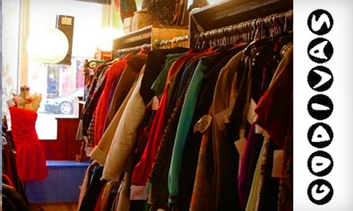 Godiva's - South Wedge: $15 for $30 Worth of Vintage Apparel at Godiva's