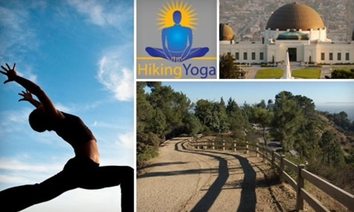 Hiking Yoga Los Angeles - Multiple Locations: $20 for Two Outdoor Fitness Classes from Hiking Yoga