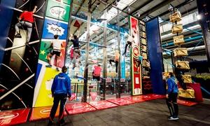 INDOOR 45 Trampoline Park: 1, 2 ou 4 entrées pour 1h d'escalade indoor (fun climb) dès 7,90 € à Indoor 45