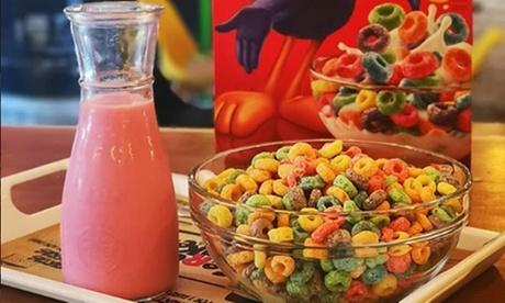 Menú de cereales para 2 o 4 con un bol mediano de cereales, topping y bebida desde 3,95 € en Cereal Monkeys