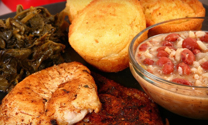 Hobert's Soul Food and Canteen - San Roe: Dinner for Two or $7 for $15 Worth of Soul Food at Hobert's Soul Food and Canteen