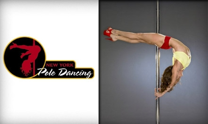 NY Pole Dancing - Multiple Locations: $25 for an Intro to Pole Dancing Class at New York Pole Dancing