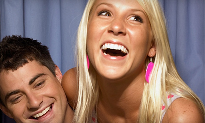Music Spectrum Entertainment and Fun Photo Booths - Central Fresno: $399 for a Three-Hour Photo-Booth Rental from Fun Photo Booths ($995 Value)