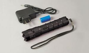 3,000,000-Volt Self-Defense Stun Gun LED Flashlight