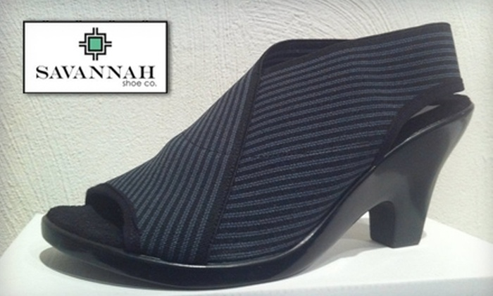 Savannah Shoe Co. - Historic District - North: $10 for $20 Worth of Fine Footwear at Savannah Shoe Co.