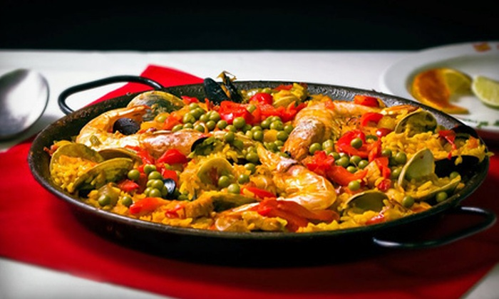 Tasca De España - Westchester: Spanish Dinner with Wine for Two, Four, or Six at Tasca de España (Up to 68% Off)
