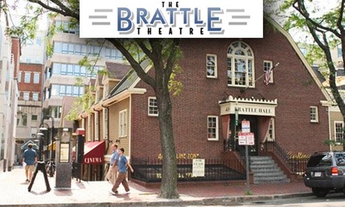 Brattle Theatre - Harvard Square: $30 for a Regular Membership to The Brattle Theatre, Plus Three Bonus Tickets ($104 Value)