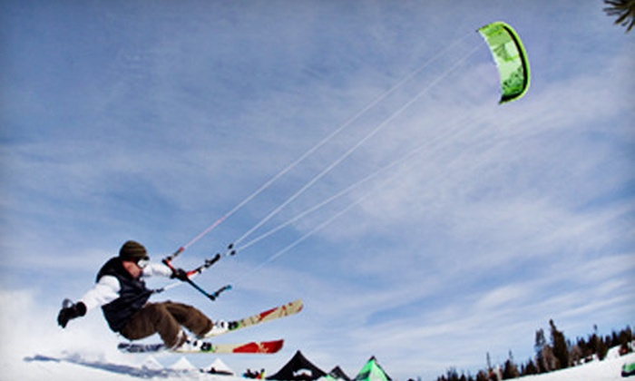 Best Snowkite Center - Park City: Introductory or Intermediate Snowkiting Lesson at Best Snowkite Center (Up to $349 Value)