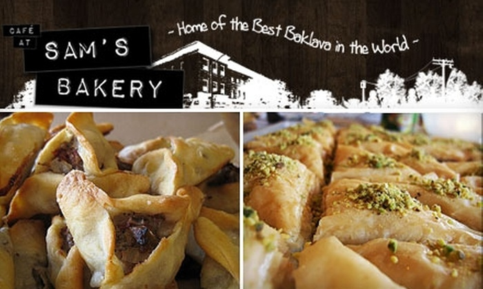 Café at Sam's Bakery - Bay Ridge & Fort Hamilton: $5 for $10 Worth of Handcrafted Bakery Bites and Café Fare at the Café at Sam's Bakery