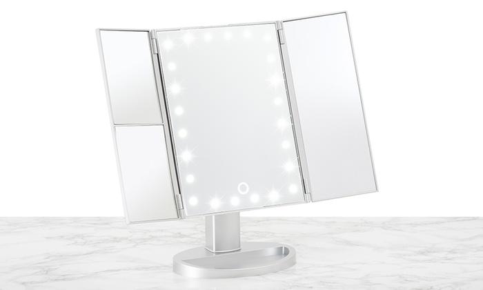 Make Up Spiegel : Dubbelzijdige schmink en make up spiegel eén zijde vergroot