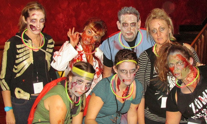 Zombi Race - Downtown: 5-Mile Zombie-Themed Footrace on February 22 or February 23 at Fado Irish Pub (Half Off)
