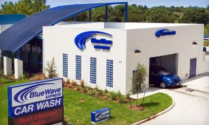 BlueWave Express - Multiple Locations: $13 for Two Ultimate Car Washes at BlueWave Express ($26 Value) Seven locations available.