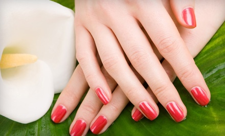 60-Minute Spa Manicure and 60-Minute Spa Pedicure (a $65 value) - European Flair Hair & Spa in Nepean