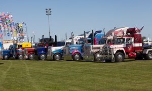 Truckfest Scotland: Truckfest Scotland in Edinburgh, 30 - 31 July: Adult (£13), Family (£31) or Child (£5) Tickets