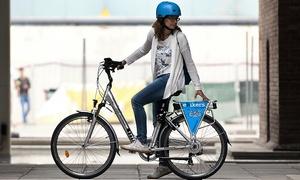 eBikers: 4 horas o 1 día de alquiler de 2 o 4 bicis eléctricas para 2 o 4 personas desde 12,95 € en eBikers, 4 centros
