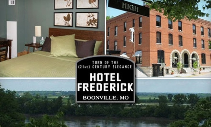 Hotel Frederick - Boonville: $99 for One Weekend Night Stay or $49 for One Weekday Night Stay at Hotel Frederick in Boonville (Up to $295 Value)