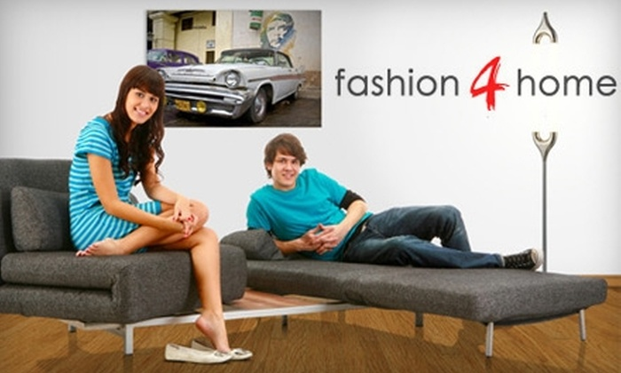 fashion4home: $20 for $50 Worth of Furniture and More from Fashion4home