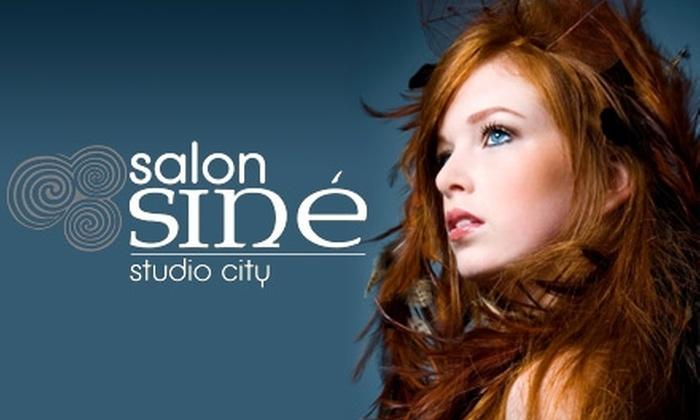 Salon Sin E - Studio City: $55 for $120 Worth of Salon Services at Salon Sin É