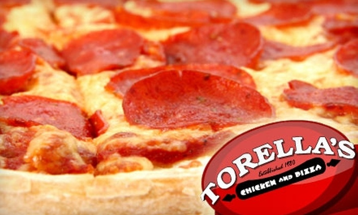 Torella's Chicken and Pizza - Cheektowaga: $4 for $8 Worth of Chicken, Pizza, and More at Torella's Chicken and Pizza