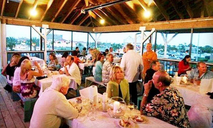 Beachside Seafood - Jacksonville Beach: $18 for $40 Worth of Fresh Seafood and Drinks at Beachside Seafood in Jacksonville Beach