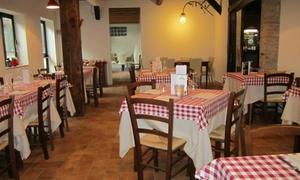 Al Gatto Rosso: Antipasto, pizza a scelta, birra media, caffè, amaro alla pizzeria Al Gatto Rosso per 2 o 4 persone (sconto fino al 61%)